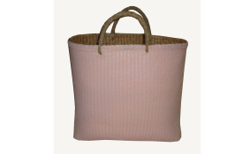 TT-160323 - Palm leaf shopping bag, color as it is.