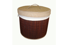 TT-160408 - Round laundry basket with lid