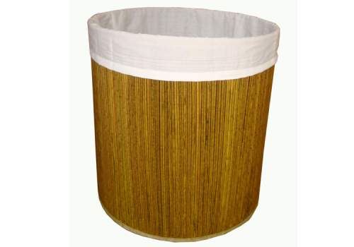 TT-160406 - Round laundry basket with lining inside
