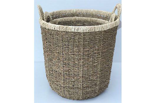 TT-DM 1904158 Seagrass basket, set of 2