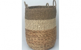 TT-DM 1904190/2 Seagrass basket, set of 2.