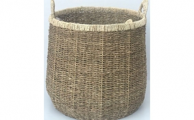 TT-DM 1904196/2 Seagrass basket, set of 2.