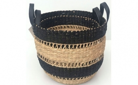 TT-DM 1904200/2 Seagrass basket, set of 2.