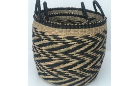 TT-DM 1904218/2 Seagrass basket, set of 2.