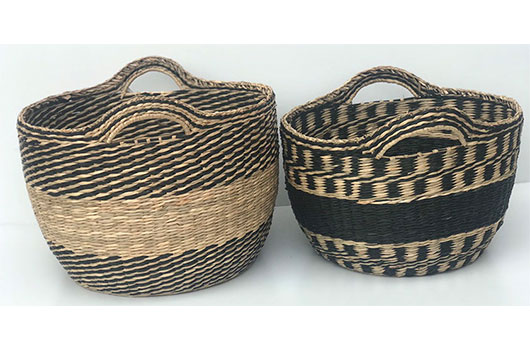 TT-DM 1904227 Seagrass basket.