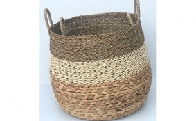 TT-DM 1904256/2 Seagrass basket, set of 2.