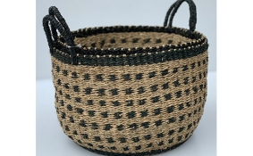TT-DM 1904005/2 Seagrass basket, set of 2
