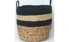 TT-DM 1904285/2 Seagrass basket, set of 2.
