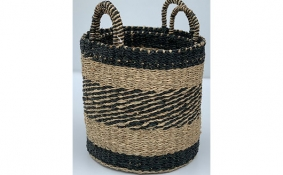 TT-DM 1904008/2 Seagrass basket, set of 2.