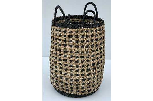 TT-DM 1904011/2 Seagrass basket, set of 2.