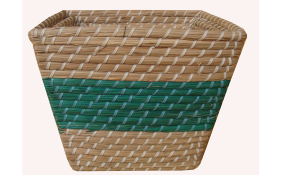 TT-160601/2 - Square seagrass basket.