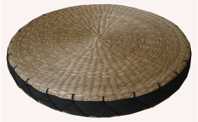 TT-160613- Round seagrass cushion