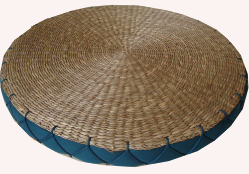 TT-160614- Round seagrass cushion