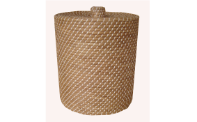 TT-160608- Round seagrass basket with lid
