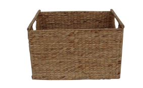 TT-142001 Water hyacinth basket, rec. shape
