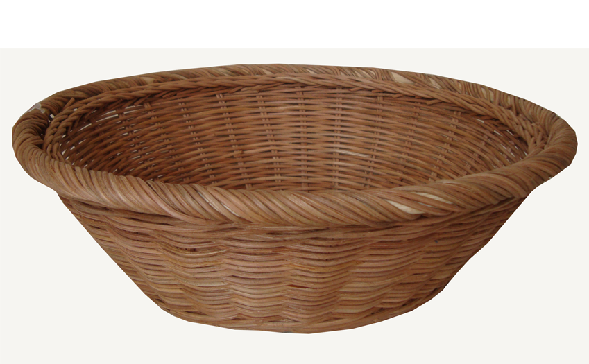 TT-160721 Rattan tray, natural color