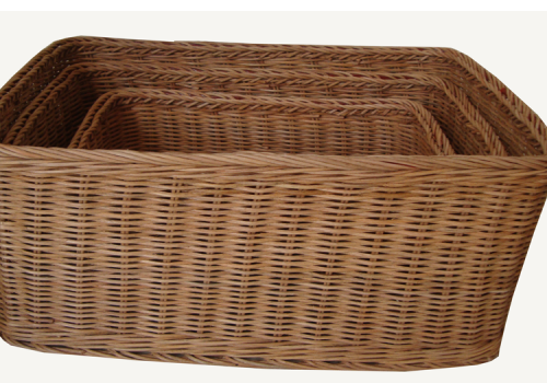 TT-160725/3 Rec. rattan basket, set 3