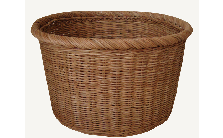 TT-160730 Rattan basket, natural color.