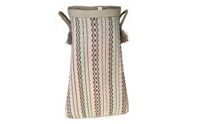 TT-160738 Seagrass laundry basket, pattern color as it is