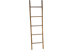 TT-160847 Bamboo deco. ladder