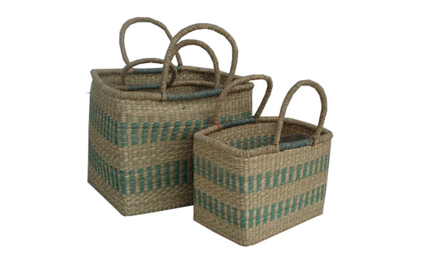 TT-160863/3 Seagrass basket, set of 3