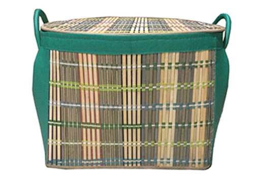 TT-160899 Bamboo laundry basket with lid