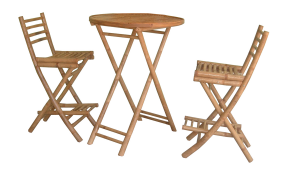TT-BB11495 Bamboo table and chairs