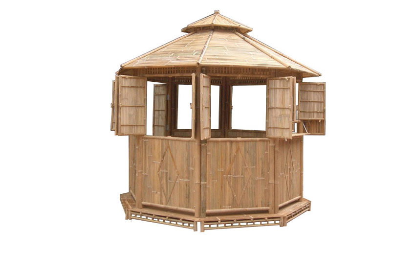 TT-BB11620 Bamboo house