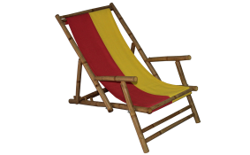 TT-BD092016 R-Y  Bamboo relax chair