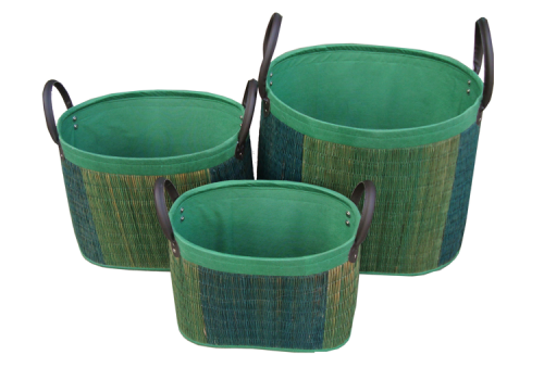 TT-D160752 Delta grass, laundry basket.