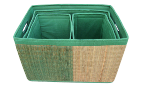 TT-D160758 Delta grass, laundry basket.
