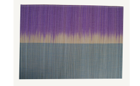 TT-O 161007 Bamboo place mat, pattern color as it is. 40 x 30 Cm