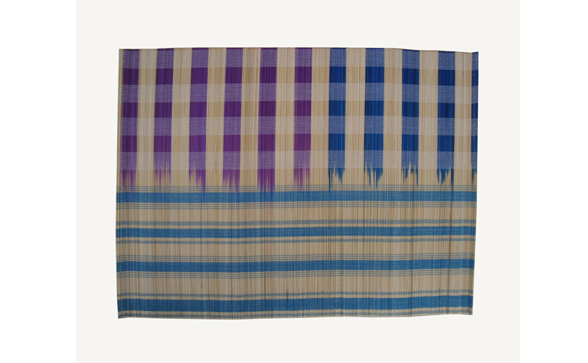 TT-O 161008 Bamboo place mat, pattern color as it is. 40 x 30 Cm
