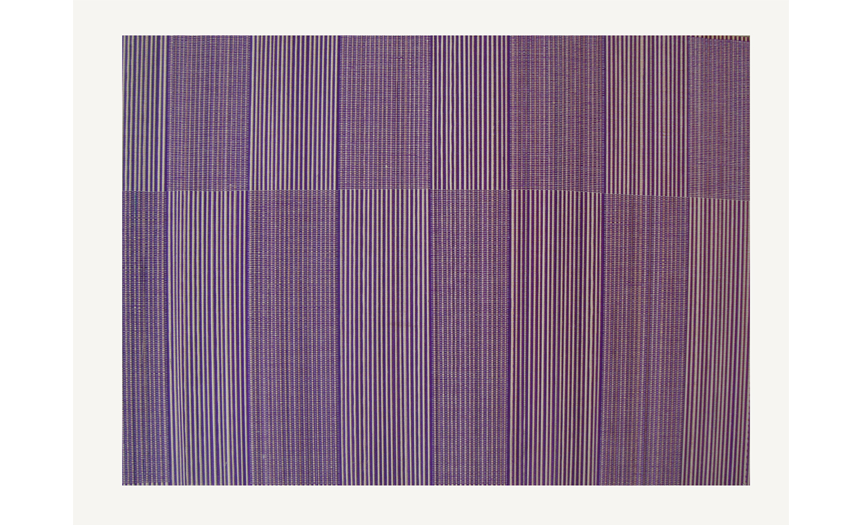 TT-O 161012 Bamboo place mat, pattern color as it is. 40 x 30 Cm