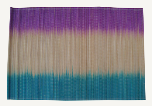 TT-O 161013 Bamboo place mat, pattern color as it is. 40 x 30 Cm