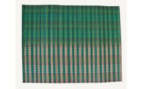 TT-O 161017 Bamboo place mat, pattern color as it is. 40 x 30 Cm