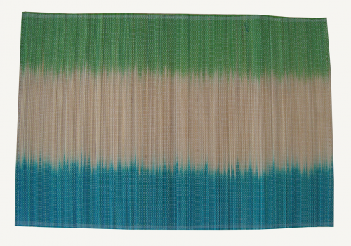 TT-O 161018 Bamboo place mat, pattern color as it is. 40 x 30 Cm