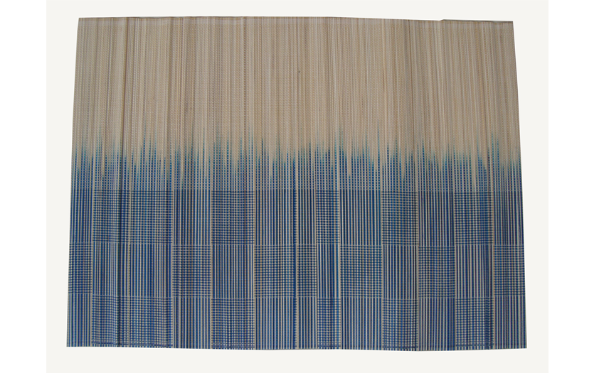 TT-O 161020 Bamboo place mat, pattern color as it is. 40 x 30 Cm