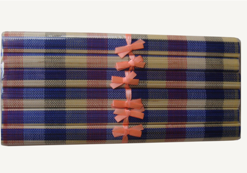 TT-O 161032 Bamboo place mat, pattern color and packing as it is. 40 x 30 Cm