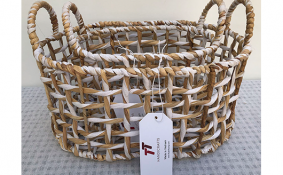 TT-190135/2 Water hyacinth basket, set 2.
