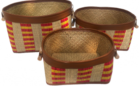 TT-190112/3 Seagrass basket, set 3