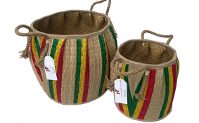 TT-190118/2 Seagrass basket, set 2.