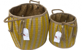 TT-190119/2 Seagrass basket, set 2