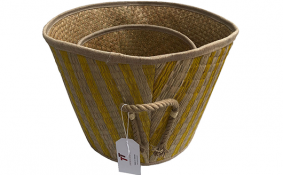 TT-190122/2 Seagrass basket, set 2.