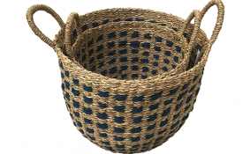 TT-190178/2 Seagrass basket, set 2..