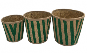TT-190123/3 Seagrass basket, set 3