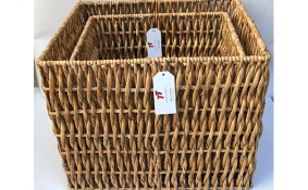 TT-190168/2 Water hyacinth basket, set 2.