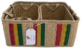 TT-190124/3 Seagrass basket, set 3.
