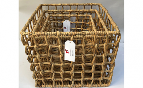 TT-190164/3 Water hyacinth basket, set 3.