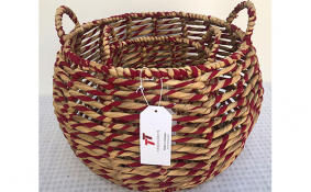 TT-190139/2 Water hyacinth basket, set 2.